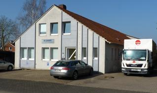 Firmengebäude der K-Light GmbH in Löhne / Nordrhein-Westfalen